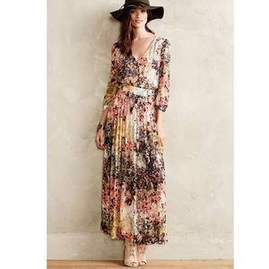 Anthropologie Equinox Maxi Dress Moulinette Soeurs